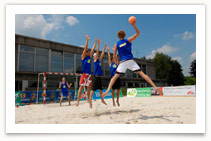 Foto Beachhandball