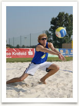 Foto Beachvolleyball